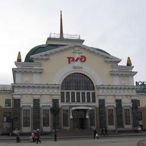 Железнодорожные вокзалы Стойбы